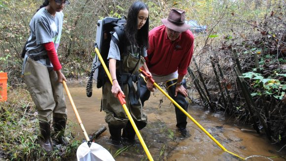 New Program Engages Students in Environmental Issues Close to Home