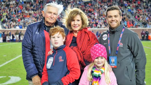 Hollandale Couple's Gift Supports Ole Miss Athletics