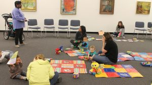 Museum Hosts Buie Babies Stroller Tour