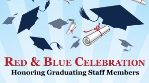 Red and Blue Celebration of Achievement Set for May 9