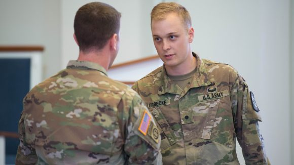 Army ROTC Cadet, Engineering Senior Receives National Recognition