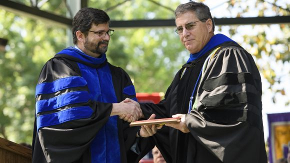 Marc Slattery Receives Top UM Research Award