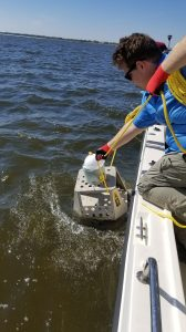 UM Geologists Study Impact of Bonnet Carré Spillway on Mississippi Sound