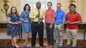 Staff Members Awarded for Representing Student Affairs' Core Values