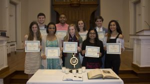 Ten UM Freshmen Receive Omicron Delta Kappa Awards