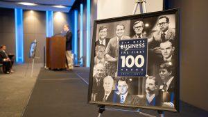 Business School Closes Centennial Celebration at Jackson Event