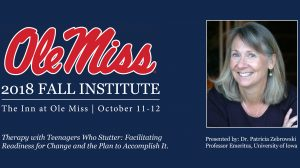 Stuttering Expert to Present Fall Institute Keynote, Campus Lecture