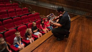 LOU Symphony Treats Second-Graders to 'Peter and the Wolf'