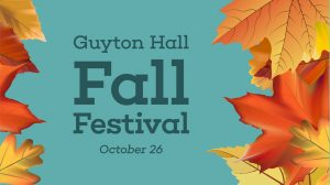 School of Education Hosts Guyton Fall Festival