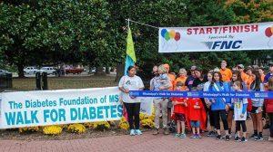 Pharmacy School Hosts Mississippi Walk for Diabetes