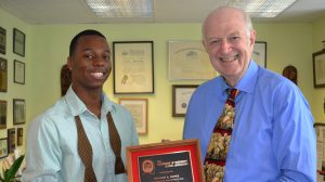 New York Attorney Richard Burke Honored for Mentoring UM Students