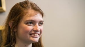 Brisack Makes History as UM's First Female Rhodes Scholar