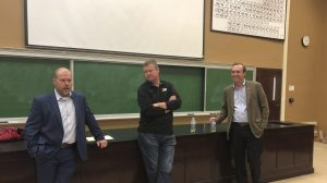 Students Learn from Leaders in ENGR 400