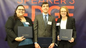 University Wraps Up 15th Speaker's Edge Competition
