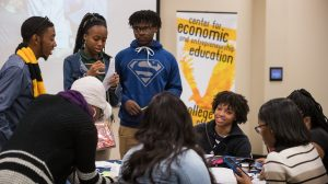 High School Students Learn Entrepreneurship Skills at Conference