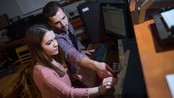 Summer Internships Yield Fellowships for Two UM Students