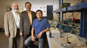 Lei Cao Named Engineering Faculty Member of the Year