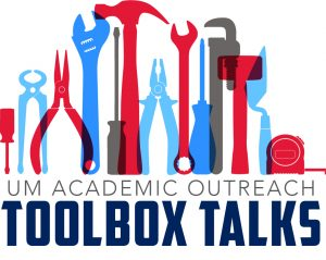 Online Faculty to Share Ideas During Toolbox Talks Event