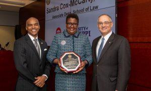 Law School Associate Dean Honored by IHL