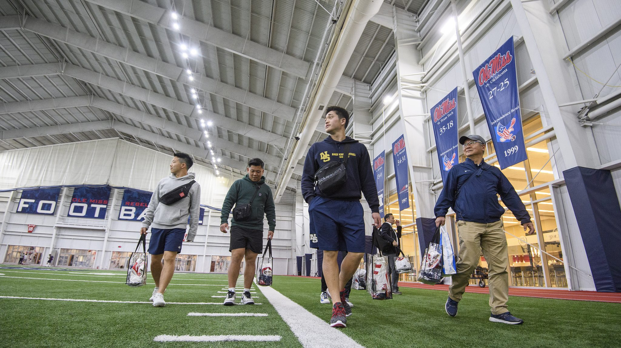 check out f10ca 95e05 Rebels Help Satisfy Yen for American Football - Ole Miss News