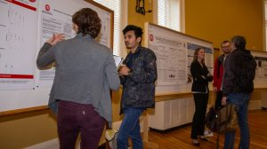 Neuroscience Research Displayed During Poster Competition
