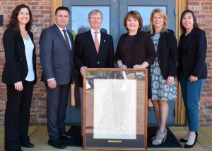 Alumni Couple Donates 1908 Mississippi Railway Map to Campus Depot