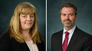 UM Recognizes Two Employees with Frist Service Awards