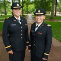 Army ROTC Commissions First Female Combat Officers