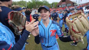 Ole Miss Softball Star Hits Home Runs on the Field, in the Classroom