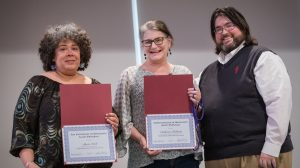 Outreach Staffer Catherine Hultman Earns Ally of the Year Award