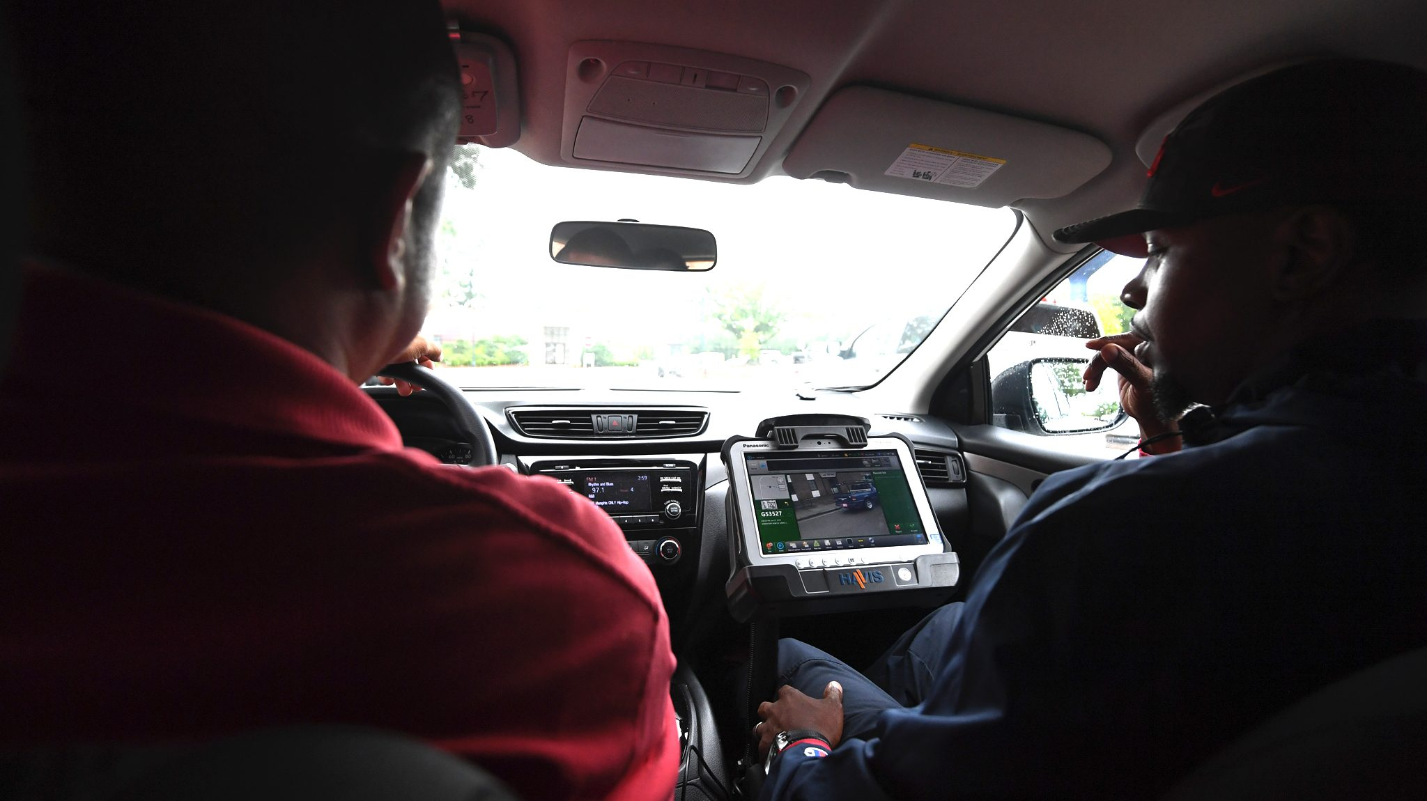 University Parking Tests License Plate Scanning Technology