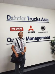 University of Mississippi student Shammond Shorter, a business management major from Atoka, Tennessee, spent his Freeman Foundation internship in Japan. Submitted photo