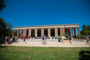 The University of Mississippi's student union recently underwent a massive expansion and renovation that added 80,000 square feet to the building. Photo by Kevin Bain/Ole Miss Digital Imaging Services
