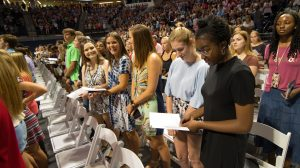 Freshmen Urged to Serve the Greater Good