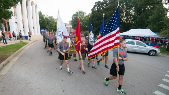 Ole Miss ROTC Runs in Remembrance of 9/11 Victims