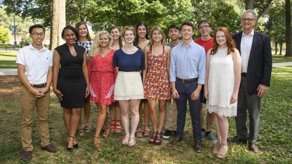 Honors College Welcomes 17 Freshman Scholars