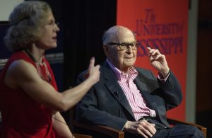'Father of Public Relations' Imparts Wisdom to UM Students