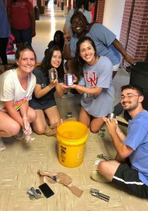Lambda Sigma Honor Society Recognized for Giving Back
