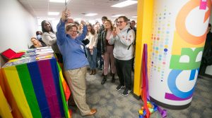 'Welcome Home': University Opens LGBTQ+ Lounge in Lamar Hall