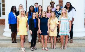 Ole Miss Women's Council Welcomes Freshman Scholars