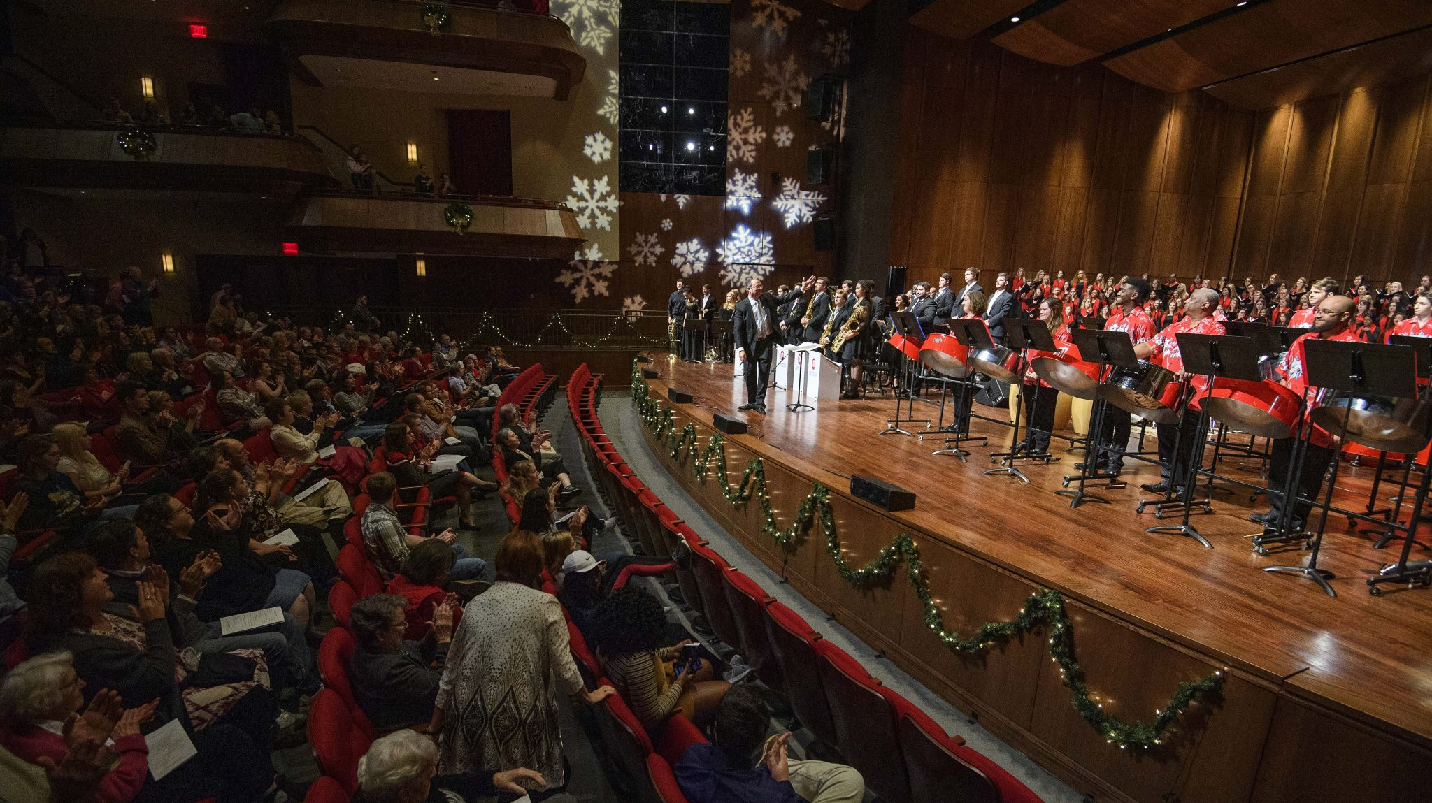 The University of Mississippi Department of Music will offer its 2019 Holiday Concert at 7:30 p.m. Dec. 5 at the Gertrude C. Ford Center for the Performing Arts. Photo by Thomas Graning/Ole Miss Digital Imaging Services