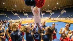 Wish Granted: Leukemia Survivor Becomes a Cheerleader