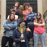 Ethics Bowl Team Wins Mid-Atlantic Championship