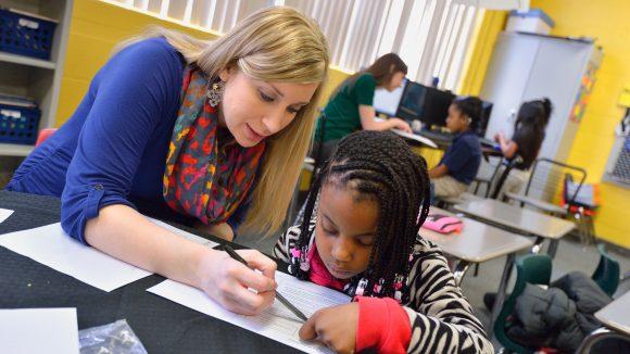 Literacy Center Celebrates 11-Year Partnership with Delta School