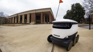 Ole Miss Dining Introduces Starship Delivery Robots