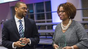 Faculty Honored for Service at 'Lift Every Voice' Celebration