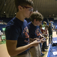 UM Hosts State Robotics Competition this Weekend