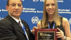 UM Student Named Outstanding Senior by Mississippi Engineering Society