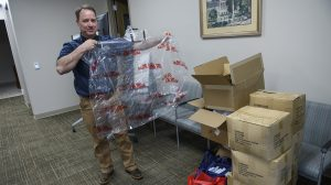UM Donates Supplies to Lafayette County Emergency Management