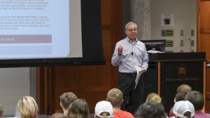 Finance, Marketing Professors Share Business School Teaching Honor